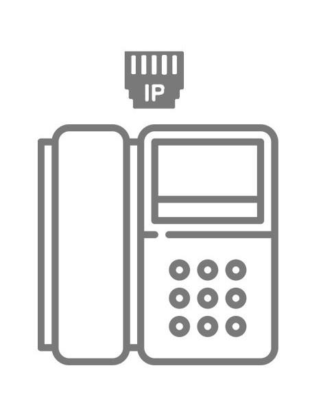 Téléphone dédié IPBX