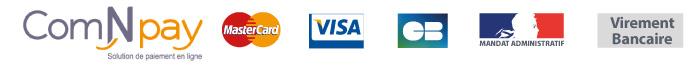paiement CB mandat administratif Virement bancaire